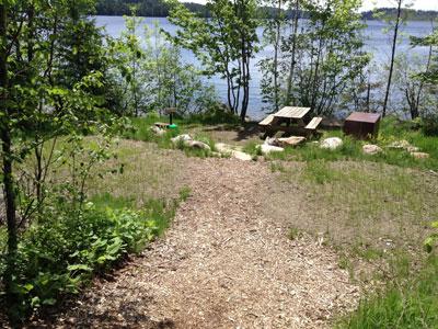 Camp du Nord Tent Sites
