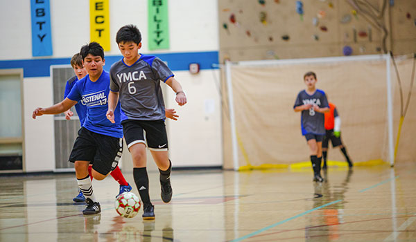 Futsal Soccer Leagues at the Y