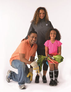 Baby steps toward healthy family eating