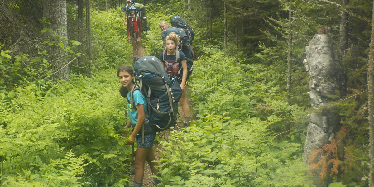 YMCA Camp Widjiwagan Backpacking Trips
