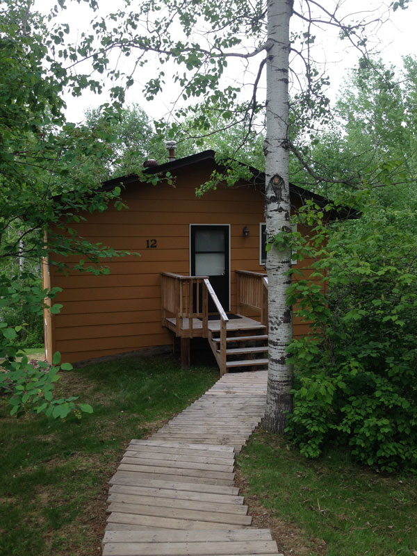 Cabins and Lodging at Camp Northern Lights