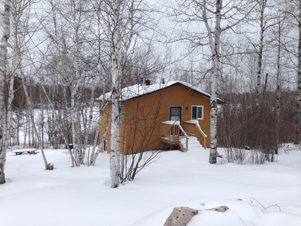 Full-facility cabins at Camp Northern Lights