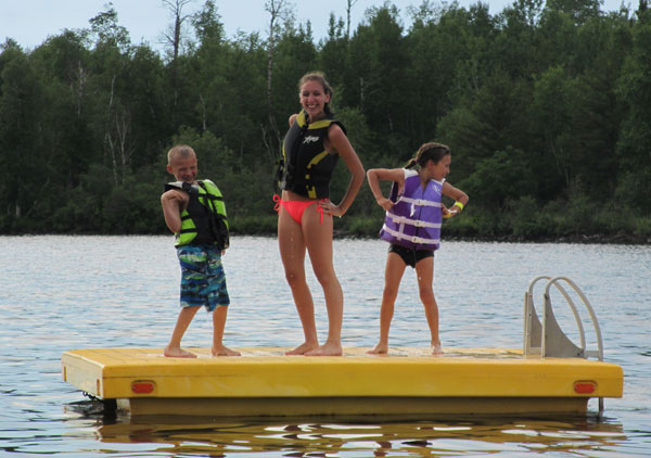 Summer schedules and activities at Camp Northern Lights