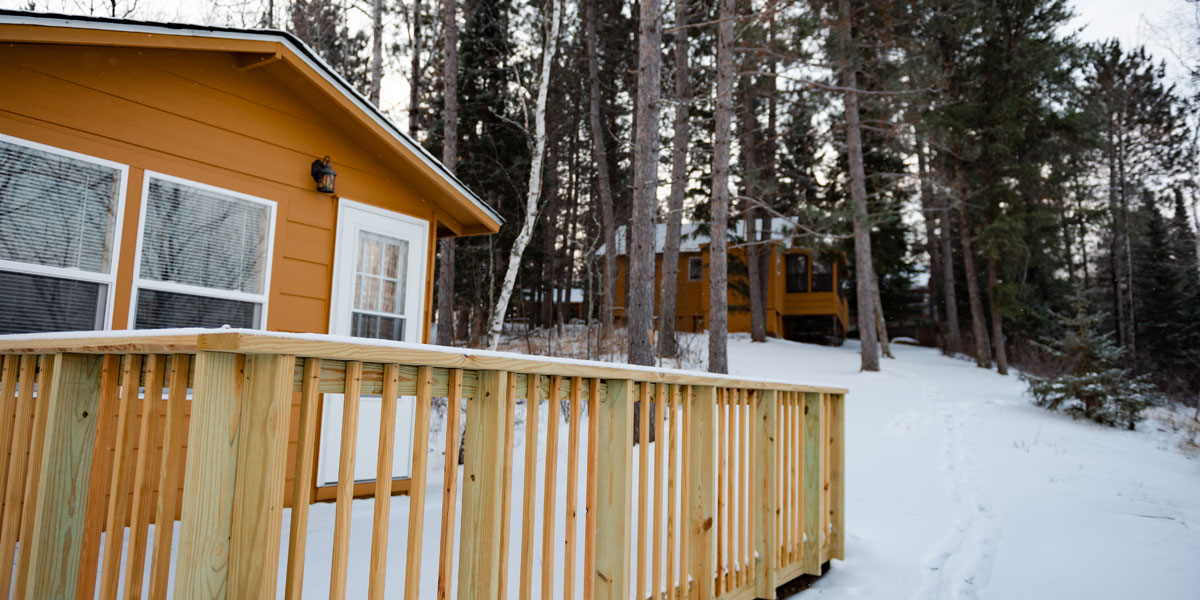 Book your own getaway for fall, winter or spring