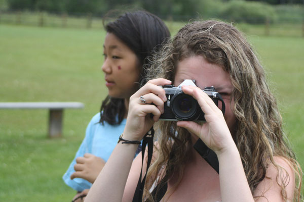 Photography Emphasis Program at Camp Warren