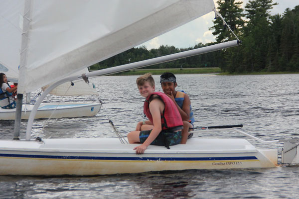 Sailing Emphasis Program at Camp Warren