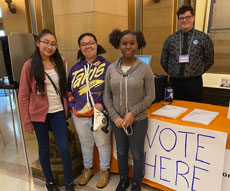 Youth Voted in Mock Presidential Primary Election During Youth Day at the Capitol