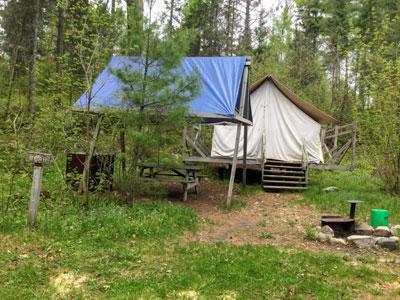 Bear Platform Tent