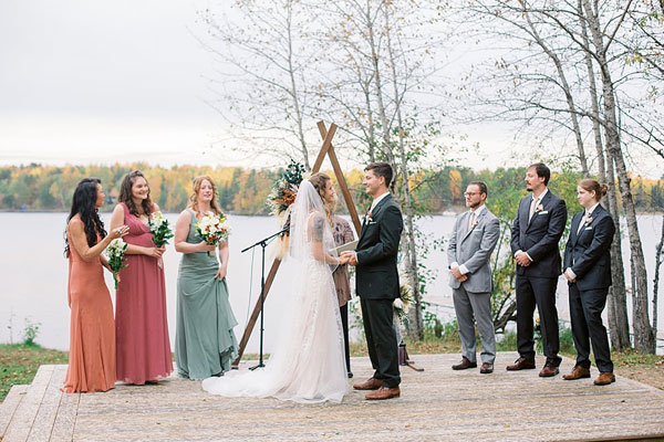 Weddings at Camp Northern Lights