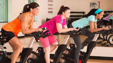Get in gear with Group Cycle classes