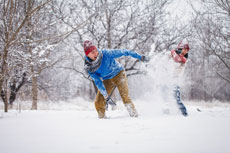 Fight cabin fever with winter fun