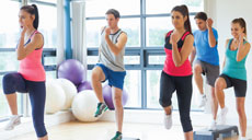 New Group Exercise class: Cardio Step Together