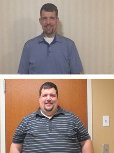 Member triumph: Losing more than 300 pounds