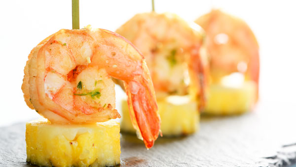 Recipe: Grilled Chili Shrimp & Pineapple