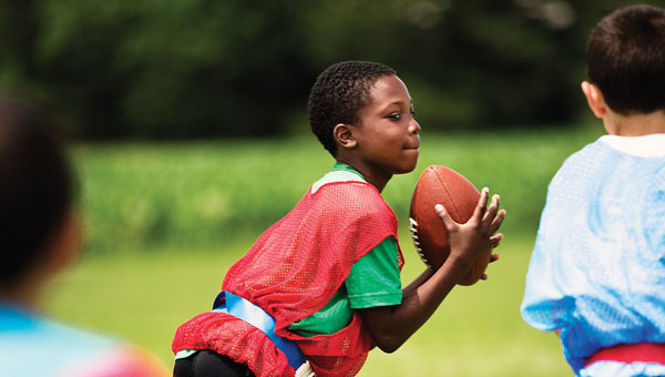 Flag football starts in August