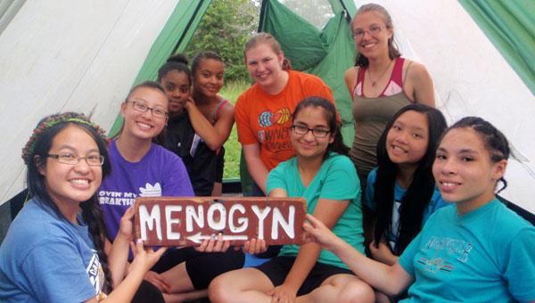 Give to Camp Menogyn
