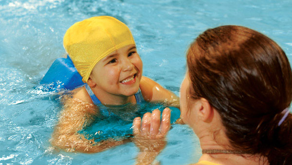 Register for Swim Lessons