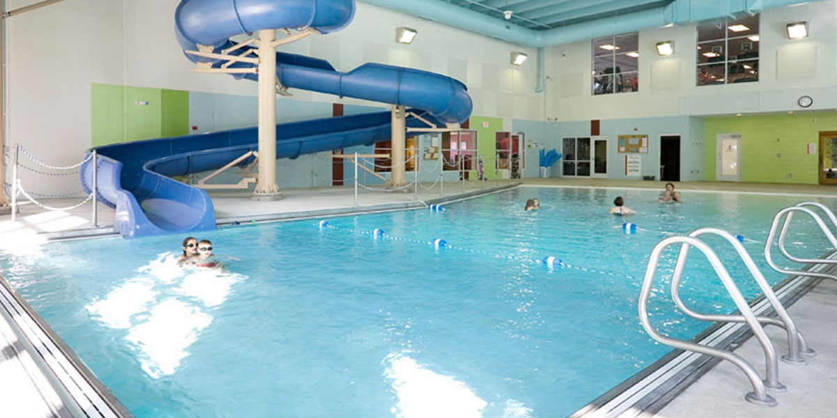 Make a splash in our indoor pool